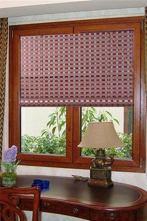Natural Bamboo Roll Up Window Blind Sun Shade WB-G16