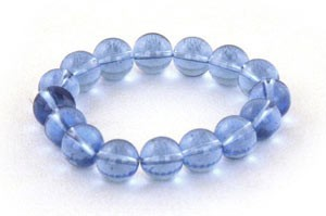 Stylish Round Crystal Bracelet Blue