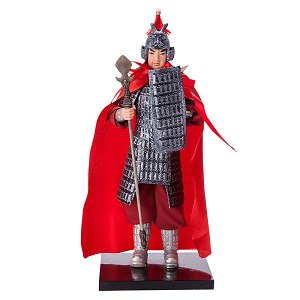 "12"" Chinese General Oriental Samurai Warrior Doll Wearing Armour DOL5001"