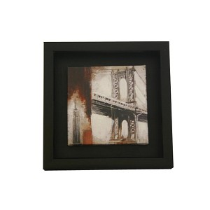 Small Wooden Framed Oil Painting Art READY TO HANG ML604