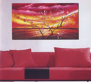 Modern Abstract Art Oil Painting STRETCHED READY TO HANG OPB716
