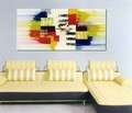 Modern Abstract Art Oil Painting STRETCHED READY TO HANG OPB811