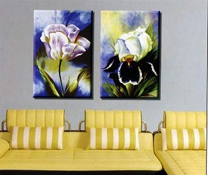 Modern Abstract Art Oil Painting STRETCHED READY TO HANG OPC161