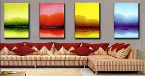 Modern Abstract Art Oil Painting STRETCHED READY TO HANG OPC263