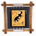 Chinese Zodiac Stamp Design Wall Plaque - Rat