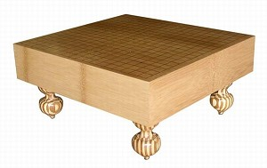 "4"" Solid Bamboo Floor Go Game Stage 10CM"