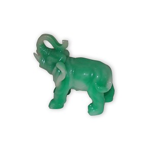 Fabulous Hong Tze Collection-Jade Color Small Elephant