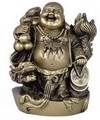 Hong Tze Collection-Brass Color Dragon Buddha