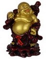 Hong Tze Collection-Lucky Buddha Grabbing Money Bag (Dual Tone)