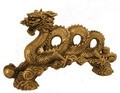 Fabulous Hong Tze Collection-New Century Dragon Brass Color