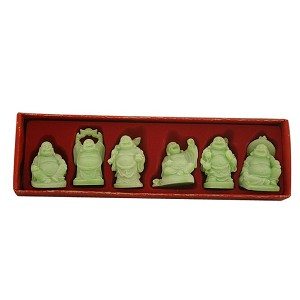 Hong Tze Collection-Set Of Six Glow In Dark Buddha G