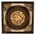 Antique Style Wall Frame Golden Qi Ling Design (MED)
