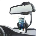 Practicle Useful Mount Holder Adjustable Car Rear View Mirror Cradle for Iphone for Samsung Galaxy S4 I9500