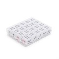 THY COLLECTIBLES 12mm White Dice with Black & Red Pips Dots for Board Games, Poker Card Games, Activity, Casino Theme, Party Favors (20 Pcs Pack)