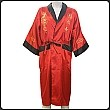 Dragon Embroidered Reversible Silk Robe