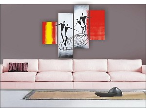 Modern Abstract Art Oil Painting STRETCHED READY TO HANG OPZ-4-14