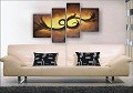Modern Abstract Art Oil Painting STRETCHED READY TO HANG OPZ-4-16