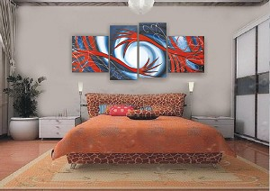 Modern Abstract Art Oil Painting STRETCHED READY TO HANG OPZ-4-35