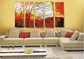 Modern Abstract Art Oil Painting STRETCHED READY TO HANG OPZ-5-2