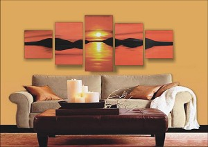 Modern Abstract Art Oil Painting STRETCHED READY TO HANG OPZ-5-3