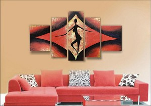Modern Abstract Art Oil Painting STRETCHED READY TO HANG OPZ-5-4