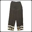 Ethnic Pants With Golden Thread