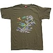 Chinese Culture T-shirt DRAGON (green)
