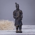 Antique Reproduction Qin Dynasty Terra cotta Warrior Collectible Statuette Meddium 8.5