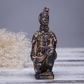 Antique Reproduction Qin Dynasty Terra cotta Warrior Collectible Statuette Small 5