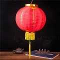 Good Luck Oriental Festival Party Celebration Lantern 12