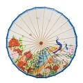Rainproof Handmade Chinese Oiled Paper Umbrella Parasol 33
