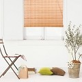 Natural Bamboo Roll Up Window Blind Roman Shade Sun Shade WB-9A1